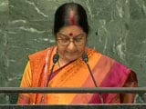 Video: We Wished Nawaz Sharif, Got Uri In Return: Sushma Swaraj