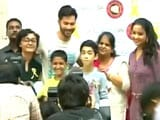 Video : Varun Dhawan's Special Day Out With Cancer Patients