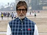 Video: NDTV क्लीनेथॉन में बापू को याद किया अमिताभ बच्चन ने...