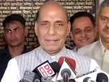 Video : India-Pak Border To Be Sealed By December 2018: Rajnath Singh