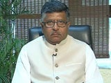 Video : Centre Challenges Triple Talaq To Uphold Dignity Of Women: Ravi Shankar Prasad