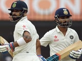 3rd Test: Virat Kohli, Ajinkya Rahane Put India on Top on Day 1