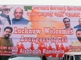 Video: 'Welcome, Uri Avengers' Say Posters Featuring PM Modi In Lucknow