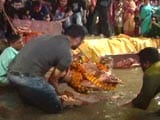 Video : Delhi Locality Finds An Eco-Friendly Way For Goddess Durga's Farewell