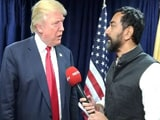 Video : Exclusive: 'Great Respect For Hindus.' Correction, 'India', Says Donald Trump To NDTV