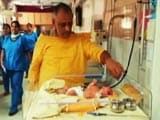 Video: Baby Swadha, Found In A Cloth Bag On Delhi Footpath, Is Police 'Property'