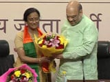Video : Congress' Rita Bahuguna Joshi Joins BJP With Fierce Parting Shot At Rahul Gandhi