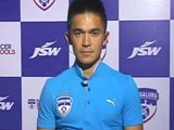 Video: Proud to be Playing For a Club Like Bengaluru FC: Sunil Chhetri