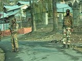 Video : Door-To-Door Search In Kashmir's Baramulla After Reports Of Terrorists In Area