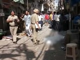 Video : Blast In Naya Bazar Of Delhi's Chandni Chowk, 1 Reported Dead