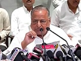 Akhilesh Missing As Mulayam Singh Yadav Insists 'Family Is United