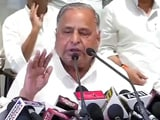 Video : Akhilesh Yadav Is Chief Minister Now. And Later, Well, We'll See, Says Mulayam Singh Yadav