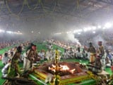 Video : In Yagna For Jayalalithaa, 200 Priests, 3,000 'Devotees' And Free Saris