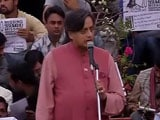 Video : Arvind Kejriwal, Shashi Tharoor At JNU Over Missing Student