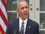 Video : Will Ensure Smooth Transition Of Power, Says Obama