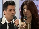 Video : Karan, Interrupted. Twinkle Rescues Alia From A Sticky Moment