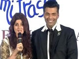 Video : He's Like The Rs 100 Note, Said Twinkle About Karan. Here's Why