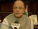 Video : Government Ready For Debate, Opposition Running Away, Says Jaitley
