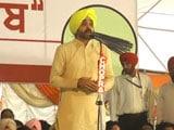 Video : AAP's Bhagwant Mann To Contest Punjab Elections Against Sukhbir Badal