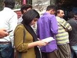 Video : With Fat Books And Empty Pockets, Students In Exam Time Mug Up In ATM Queues