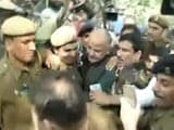 Video : Manish Sisodia Detained Near Parliament While Protesting Against Notes Ban