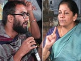Video : Watch: Minister Nirmala Sitharaman Took On A JNU Student - And Won