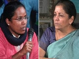 Video : JNU Students Take On Minister Nirmala Sitharaman Over Missing Student