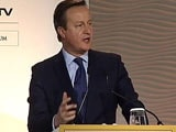 Video : There Are No Good Or Bad Terrorists, Says Former British PM David Cameron