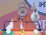 Video : PM Narendra Modi Warns Those Stashing Black Money Into Jan Dhan Accounts Of Poor