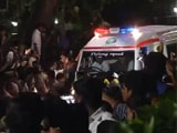 Video : Jayalalithaa's Body Taken To Her Poes Garden Residence