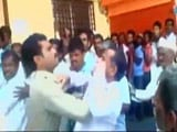 Video : Caught On Camera: Cop Slaps Ex-Serviceman In Bank Queue In Karnataka