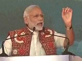 Video : Terror Gains From Fake Notes, Says PM Modi In Gujarat