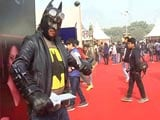 Video : 6th New Delhi Comic Con Brings Popular International Comic Creators