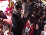 Video : After 5 Months At Home, Kashmir Children Get A Special Train Ride