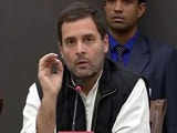Video : 'PM Must Explain Corruption Charges Against Him,' Says Rahul Gandhi