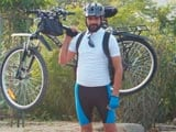 Video: A Man Cycles From Kargil To Kanyakumari To Spread The Swachh India Message