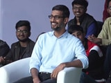 Video : Google's CEO On Ragging, Canteen Food And Hostel Life