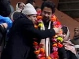Video : On Mufti Mohammad Sayeed's First Death Anniversary, Son Tasaduq Joins PDP