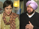 Video: Arvind Kejriwal A Sneaky Little Fellow; Badals Have No Chance: Amarinder Singh To NDTV