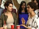 Video : Dangal Sisters Sanya and Fatima Talk About Their Bond