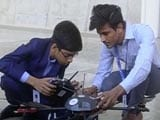Video : 14-Year-Old Signs 5 Crore Deal For Production Of His Anti-Landmine Drone