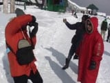 Video : Covered In Thick Snow, Kashmir's Winter Wonderland Gulmarg Attracting Tourists