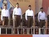 Video : RSS Holds Meet At Kolkata's Brigade Parade Ground For The First Time Ever