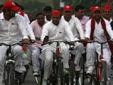 Video : Akhilesh Yadav's Big Bonanza: 'Cycle' Stays With Him