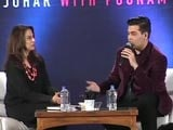 Video : Karan Johar on Kajol: Sometimes Chapters End, Books End, Relationships End