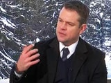 Video : My Daughters Aren't Impressed With My Celebrity Status: Matt Damon to NDTV