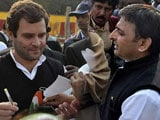 Video: Congress Beats Akhilesh Yadav To It, Announces Uttar Pradesh Alliance