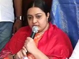 Video : Jayalalithaa's Niece Deepa Jayakumar Says 'Party Wants Me, Not Sasikala'