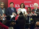 Video : Rishi Kapoor Unveils His Autobiography Khullam Khulla: Rishi Kapoor Uncensored