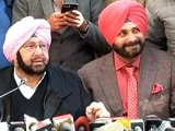 Video : From Captain And Navjot Sidhu, An Unconvincing Show Of Unity